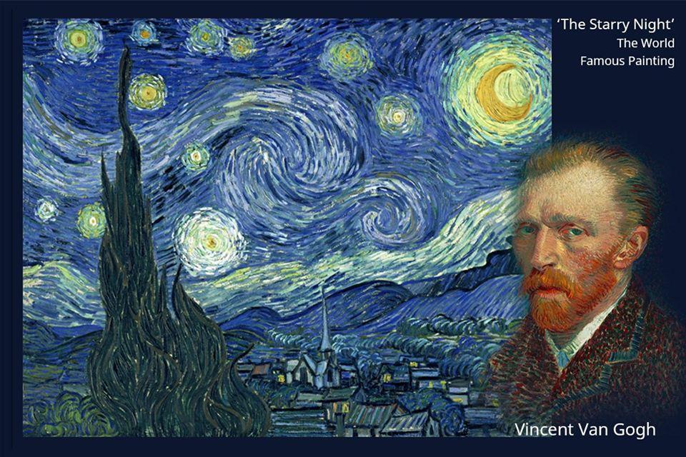ที่มาของภาพวาดมูลค่า 3 พันล้าน !! 'The Starry Night' ค่ำคืนแห่งแสงดาว ผลงานอันเลื่องชื่อของ Vincent Van Gogh ศิลปินเอกในยุคของศิลปะแบบ 'Post-Impressionism'