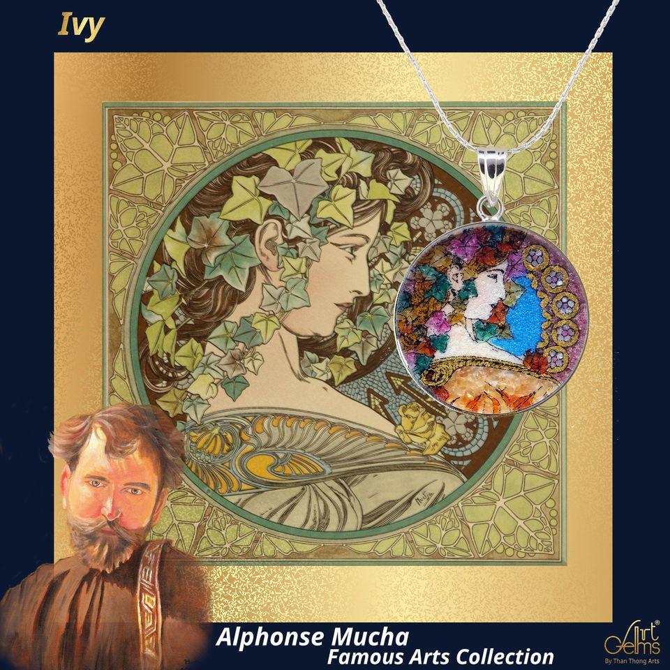 'Alphonse Mucha' ศิลปินผู้ถ่ายทอดความงดงามของผู้หญิง