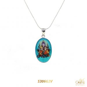 GemsArt Pendant : Ganesha S306G2V, Ideology Collection
