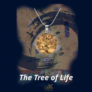GemsArt Pendant : The Tree of Life, Famous Arts Collection 25 mm.