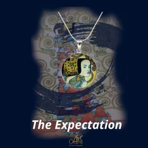 GemsArt Pendant : The Expectation, Famous Arts Collection 25 mm.