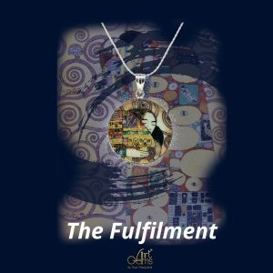 GemsArt Pendant : The Fulfilment, Famous Arts Collection 25 mm.