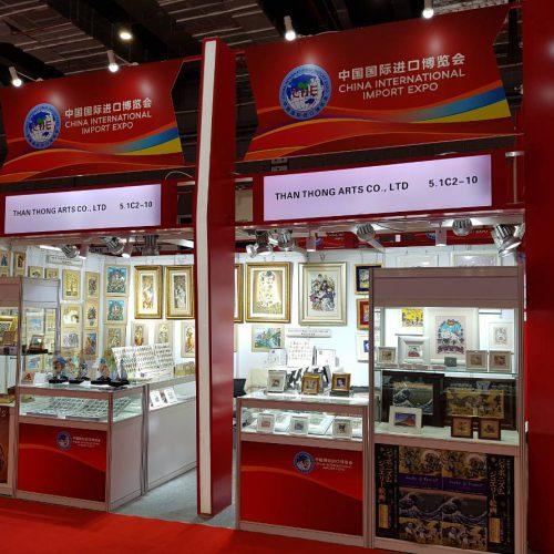 Than Thong Arts at China International Import Expo 2019